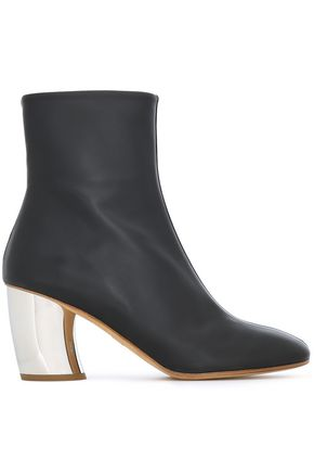 PROENZA SCHOULER حذاء بوت إلى الكاحل من الجلد الناعم والجلد