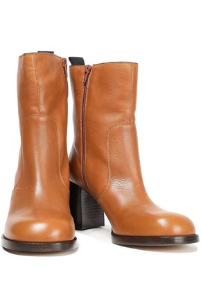 Joseph Woman Leather Ankle Boots Light Brown