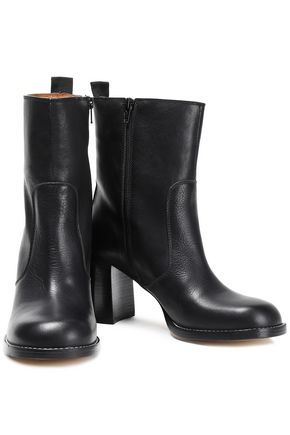 Joseph Woman Leather Ankle Boots Black
