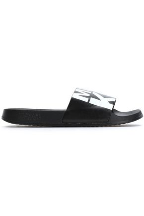 MICHAEL MICHAEL KORS Printed leather slides
