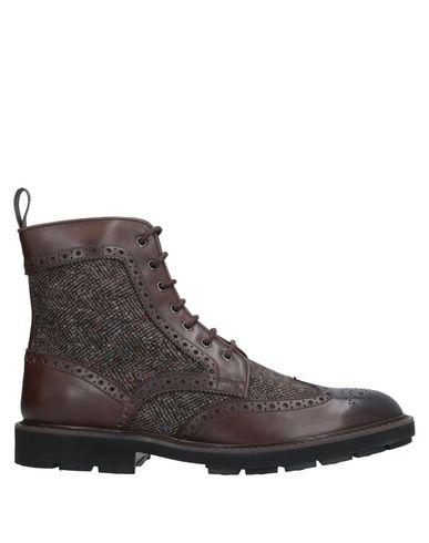 Фото - Полусапоги и высокие ботинки темно-коричневого цвета