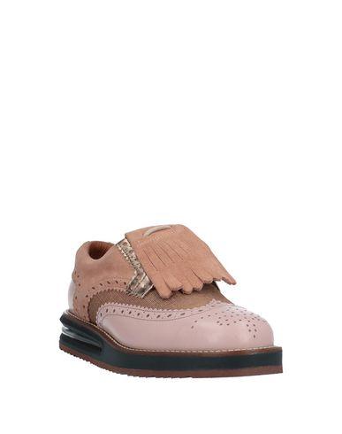 Фото 2 - Обувь на шнурках от BARLEYCORN розового цвета