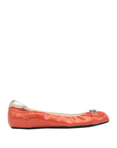 Купить Женские балетки  оранжевого цвета