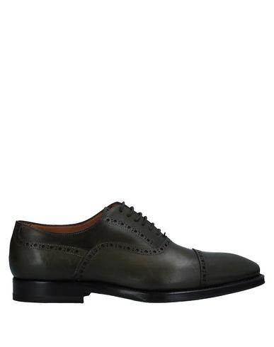 Купить Обувь на шнурках от STEFANO BRANCHINI темно-зеленого цвета