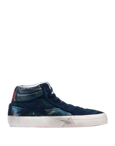 Фото - Высокие кеды и кроссовки от ISHIKAWA темно-синего цвета