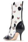 MALONE SOULIERS x EMANUEL UNGARO + Emanuel Ungaro appliquéd PVC and leather boots
