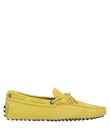Фото - Мужские мокасины  желтого цвета