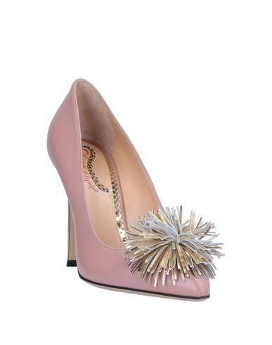 Фото 2 - Женские туфли  розового цвета