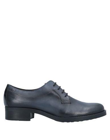 Фото - Обувь на шнурках от DONNA PIÙ темно-синего цвета