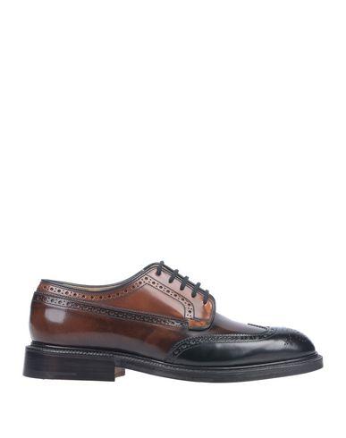 Купить Обувь на шнурках цвет какао