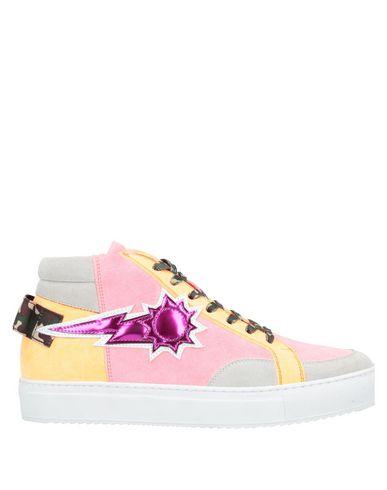 Фото - Высокие кеды и кроссовки от URBAN SUN розового цвета