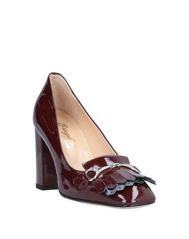Фото 2 - Женские мокасины F.LLI BRUGLIA красно-коричневого цвета