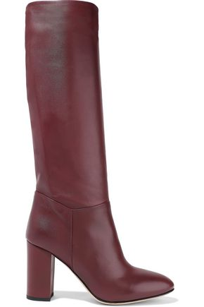 IRIS & INK Ruby leather knee boots