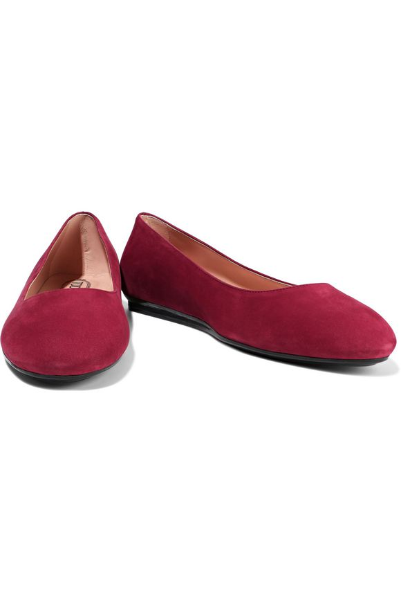 Studded suede ballet flats | TOD'S | Sale up to 70% off