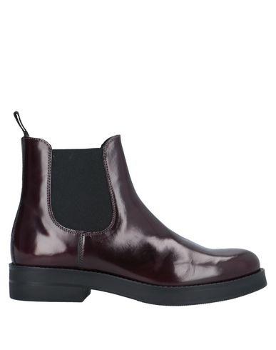 Фото - Полусапоги и высокие ботинки от SOLDINI цвет баклажанный