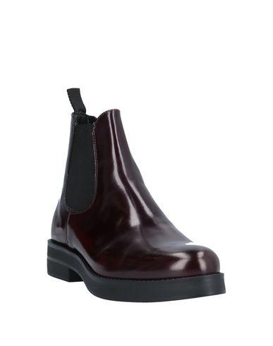 Фото 2 - Полусапоги и высокие ботинки от SOLDINI цвет баклажанный