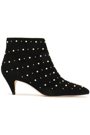 KATE SPADE New York Starr studded suede ankle boots