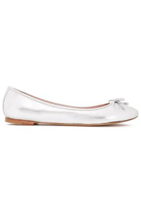 KATE SPADE New York Willa metallic leather ballet flats
