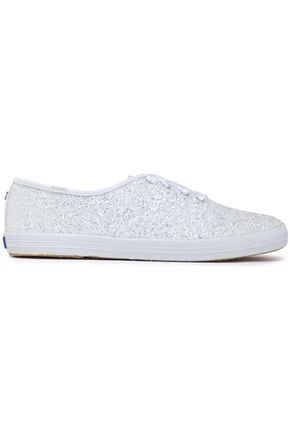 KATE SPADE New York Champion glittered canvas sneakers