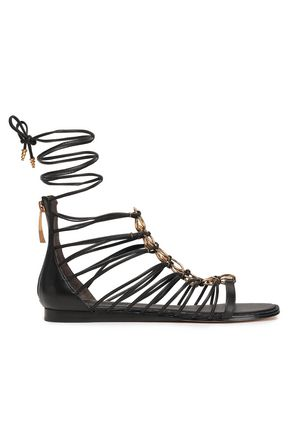 DKNY Tilly embellished leather sandals