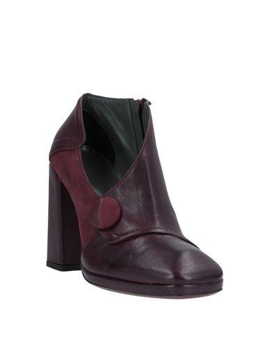 Фото 2 - Женские ботинки и полуботинки  цвет баклажанный