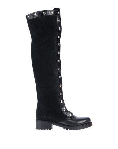 Фото - Женские сапоги  черного цвета