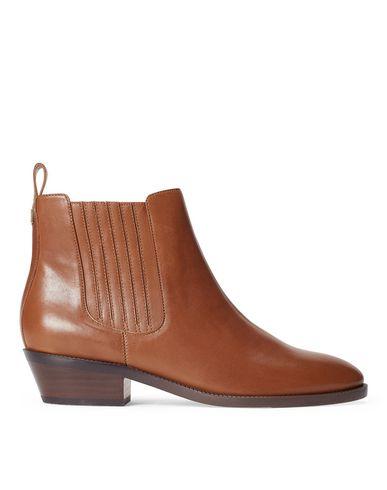 Купить Полусапоги и высокие ботинки от LAUREN RALPH LAUREN коричневого цвета