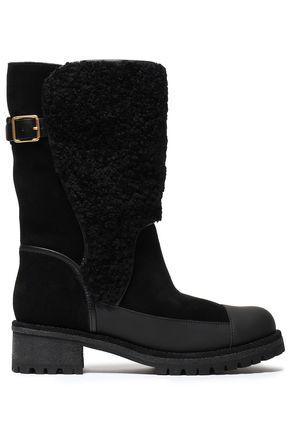 TORY BURCH Sloan shearling boots