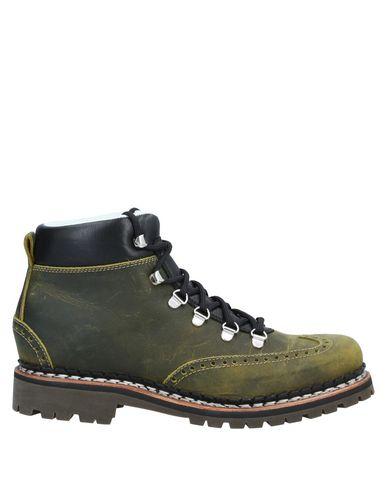 Фото - Полусапоги и высокие ботинки от VENTESIMA STRADA зеленого цвета