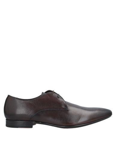 Купить Обувь на шнурках темно-коричневого цвета