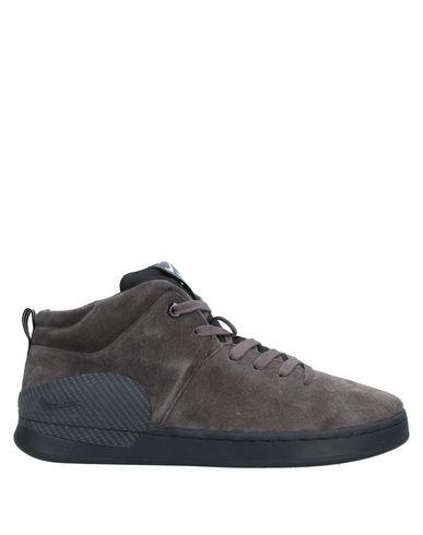 Фото - Высокие кеды и кроссовки от VESPA свинцово-серого цвета