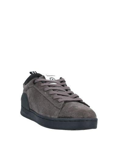 Фото 2 - Низкие кеды и кроссовки от VESPA свинцово-серого цвета