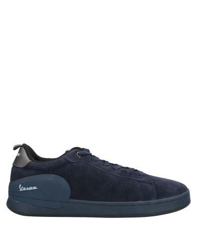 Фото - Низкие кеды и кроссовки от VESPA темно-синего цвета