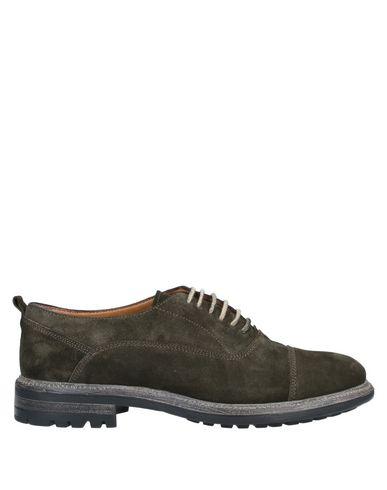 Купить Обувь на шнурках от STEFANO BRANCHINI цвет зеленый-милитари