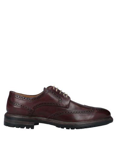 Купить Обувь на шнурках от STEFANO BRANCHINI красно-коричневого цвета