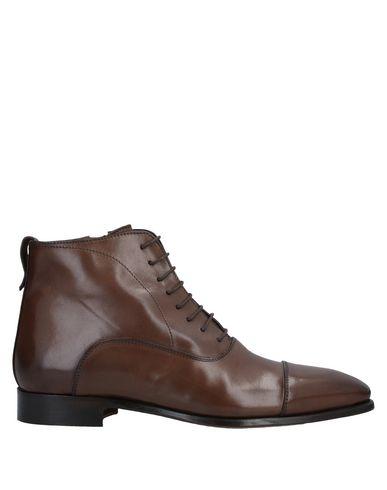 Купить Полусапоги и высокие ботинки от STEFANO BRANCHINI темно-коричневого цвета