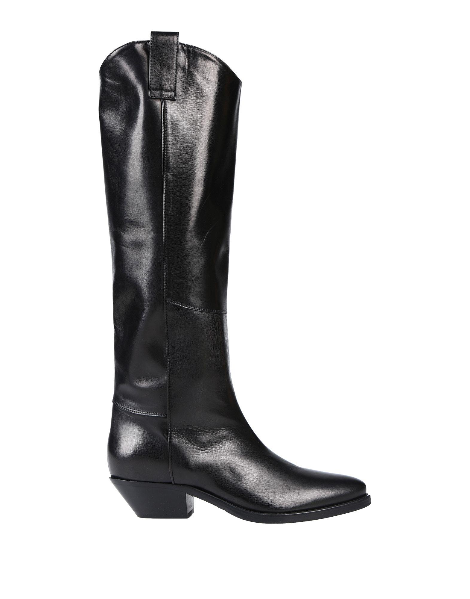 《送料無料》CARLA G. レディース ブーツ ブラック 36 革