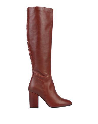 Купить Женские сапоги ELIANA BUCCI красно-коричневого цвета