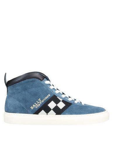 Купить Высокие кеды и кроссовки пастельно-синего цвета