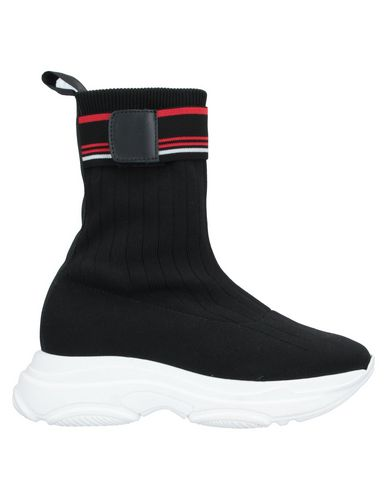 Купить Высокие кеды и кроссовки от NORA BARTH черного цвета