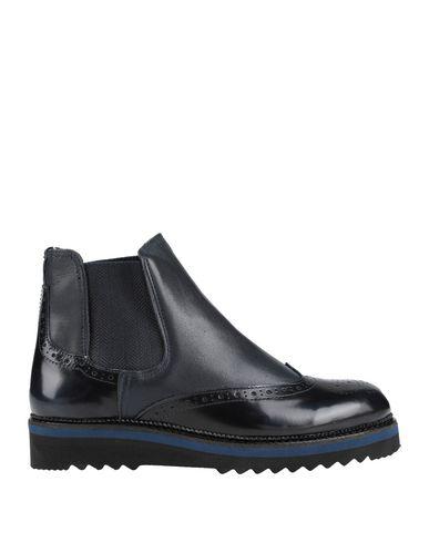 Фото - Полусапоги и высокие ботинки от BOTTEGA MARCHIGIANA темно-синего цвета