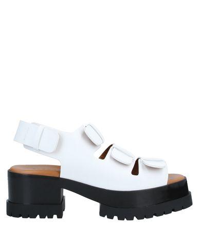 Купить Женские сандали CLERGERIE белого цвета
