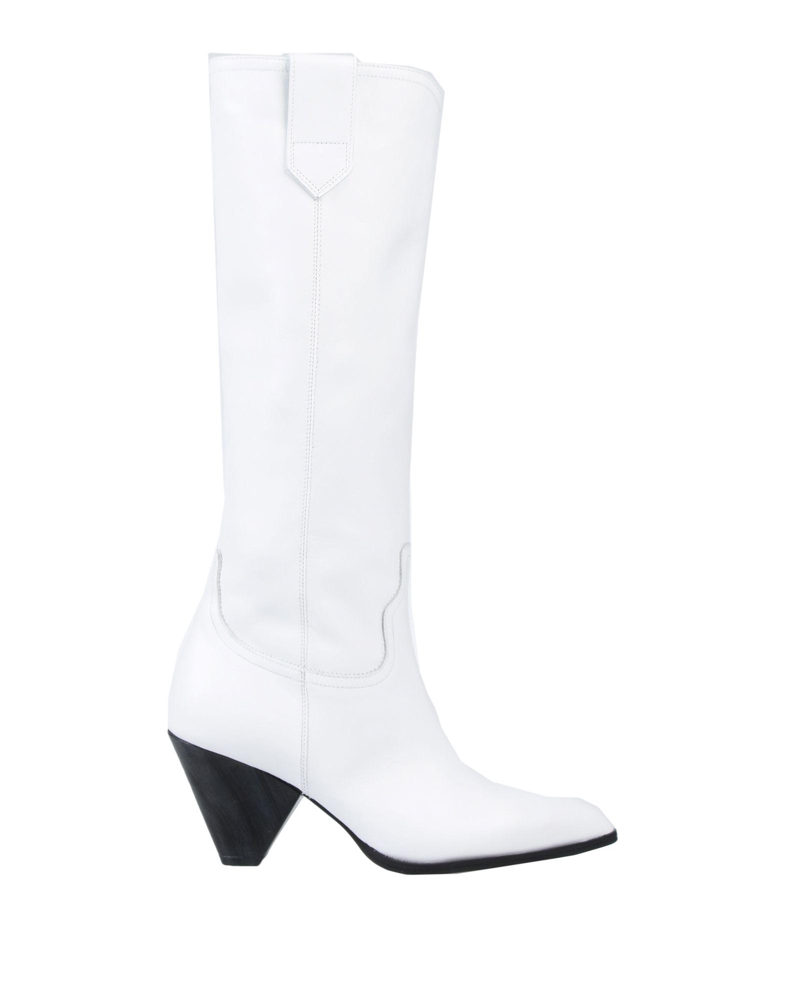 《送料無料》CARLA G. レディース ブーツ ホワイト 36 革