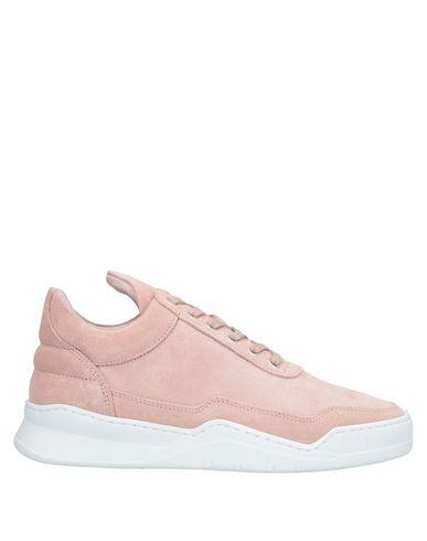 Фото - Низкие кеды и кроссовки от FILLING PIECES светло-розового цвета