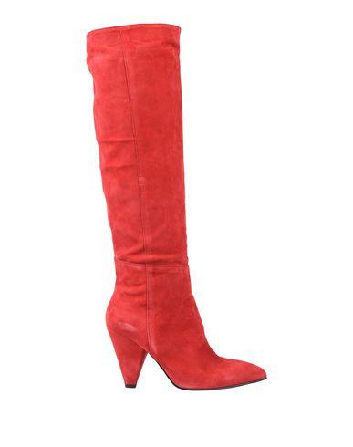 Купить Женские сапоги ELIANA BUCCI красного цвета