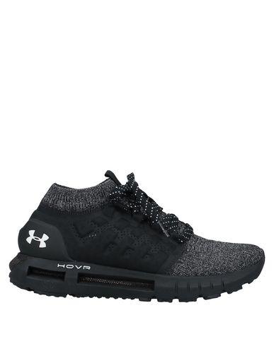 Купить Высокие кеды и кроссовки от UNDER ARMOUR черного цвета