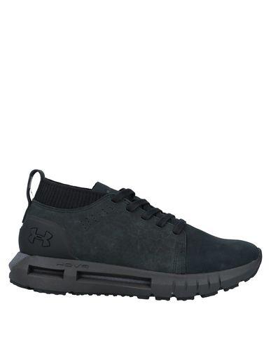 Купить Низкие кеды и кроссовки от UNDER ARMOUR черного цвета