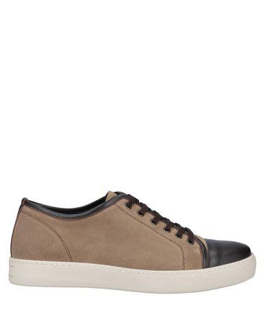Купить Низкие кеды и кроссовки от GE.13 Napoli бежевого цвета