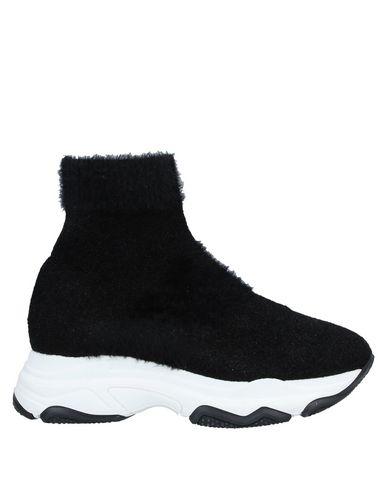 Фото - Высокие кеды и кроссовки от UNLACE черного цвета