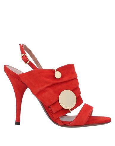 Купить Женские сандали  кораллового цвета